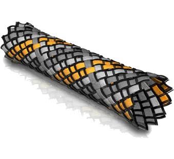 VIABLUE Braided Sleeve Orange 6-14mm