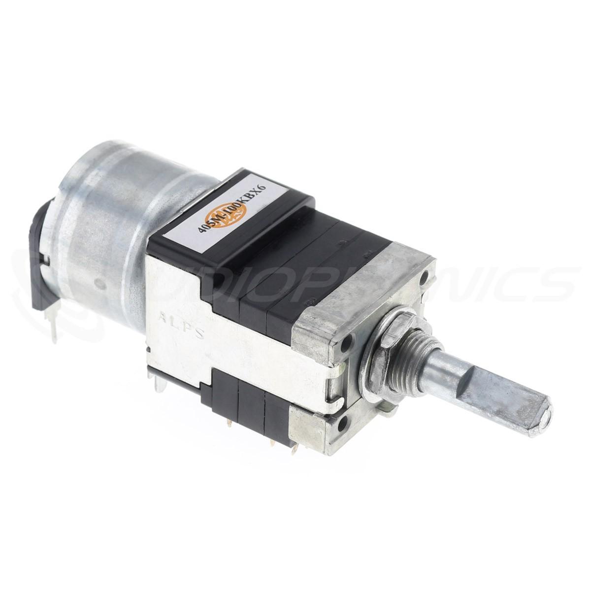 ALPS RK16816MG Potentiomètre Motorisé 6 Voies Logarithmique 100k