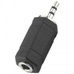 Adaptateur Jack 2,5mm mâle stéréo vers Jack 3,5mm femelle stéréo