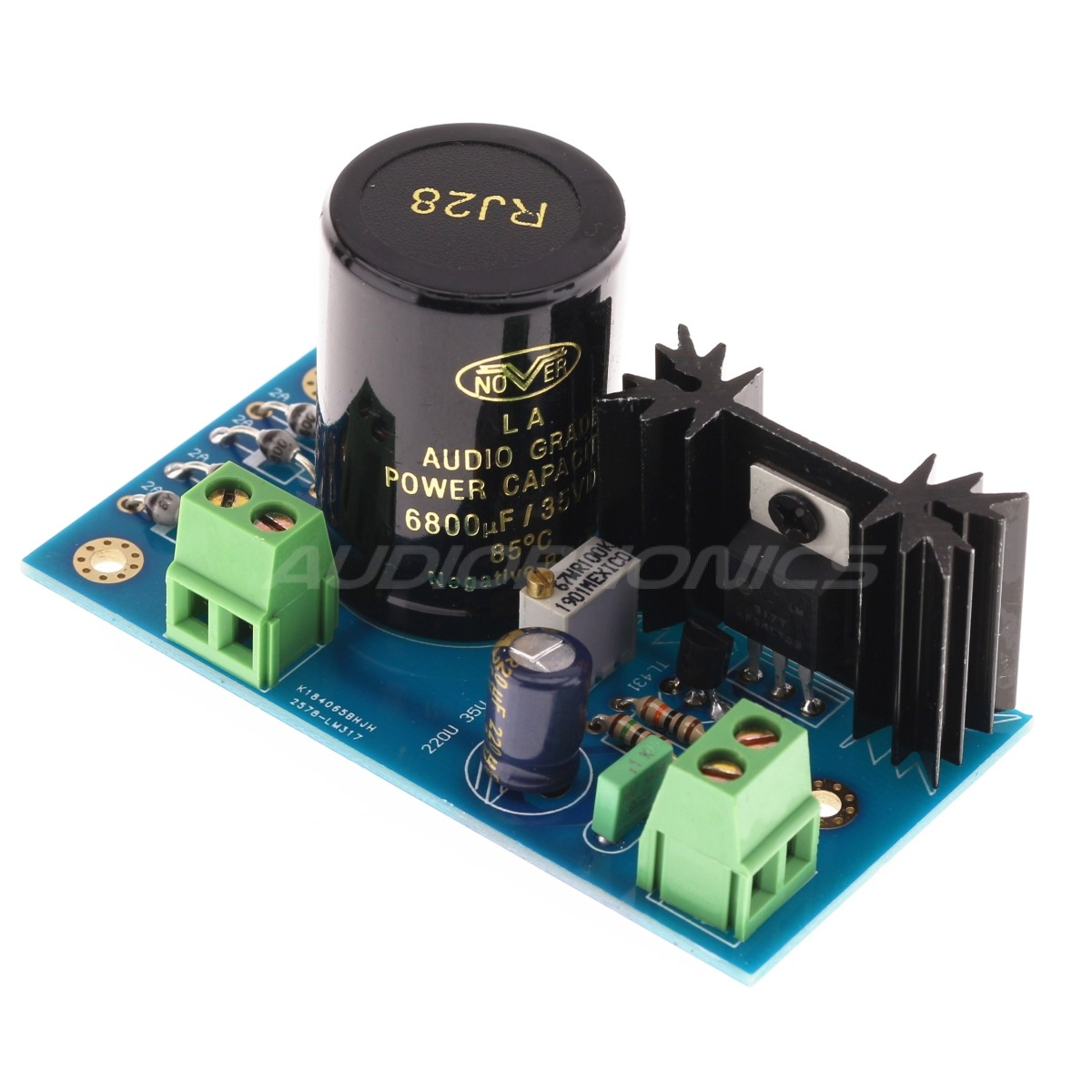 Regulated Linear Power Supply AC-DC LM317 / TL431 37V 1.5A