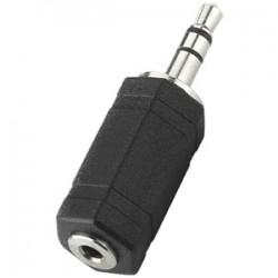 Adaptateur Jack 3,5mm mâle stéréo vers Jack 2,5mm femelle stéréo