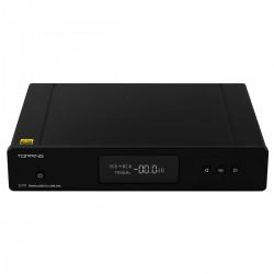 TOPPING D70 BT DAC Symétrique 2x AK4497 XMOS XU208 I2S Bluetooth 5.0 LDAC 32bit 768kHz DSD512 Noir