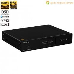 TOPPING D70 BT Balanced DAC 2x AK4497 XMOS XU208 I2S Bluetooth 5.0 LDAC 32bit 768kHz DSD512 Black