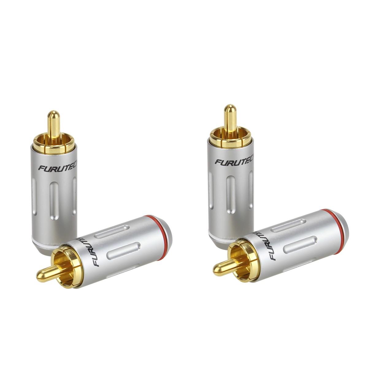 FURUTECH FP-162 (G) Gold-Plated RCA Connectors 24k Ø7.2mm (Set x4)