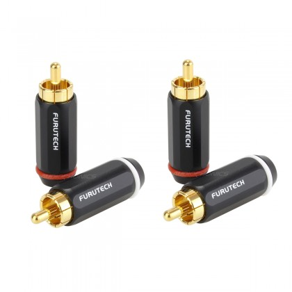 Furutech FP-126 OCC RCA plugs Ø 7.2mm (Pair)