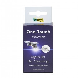 WINYL ONE-TOUCH Phono Stylus Tip Dry Polymer Cleaning System
