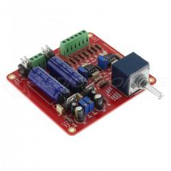 Stereo Preamplifier Module ALPS RK27 Potentiometer 2x AOP NE5534N DIP8