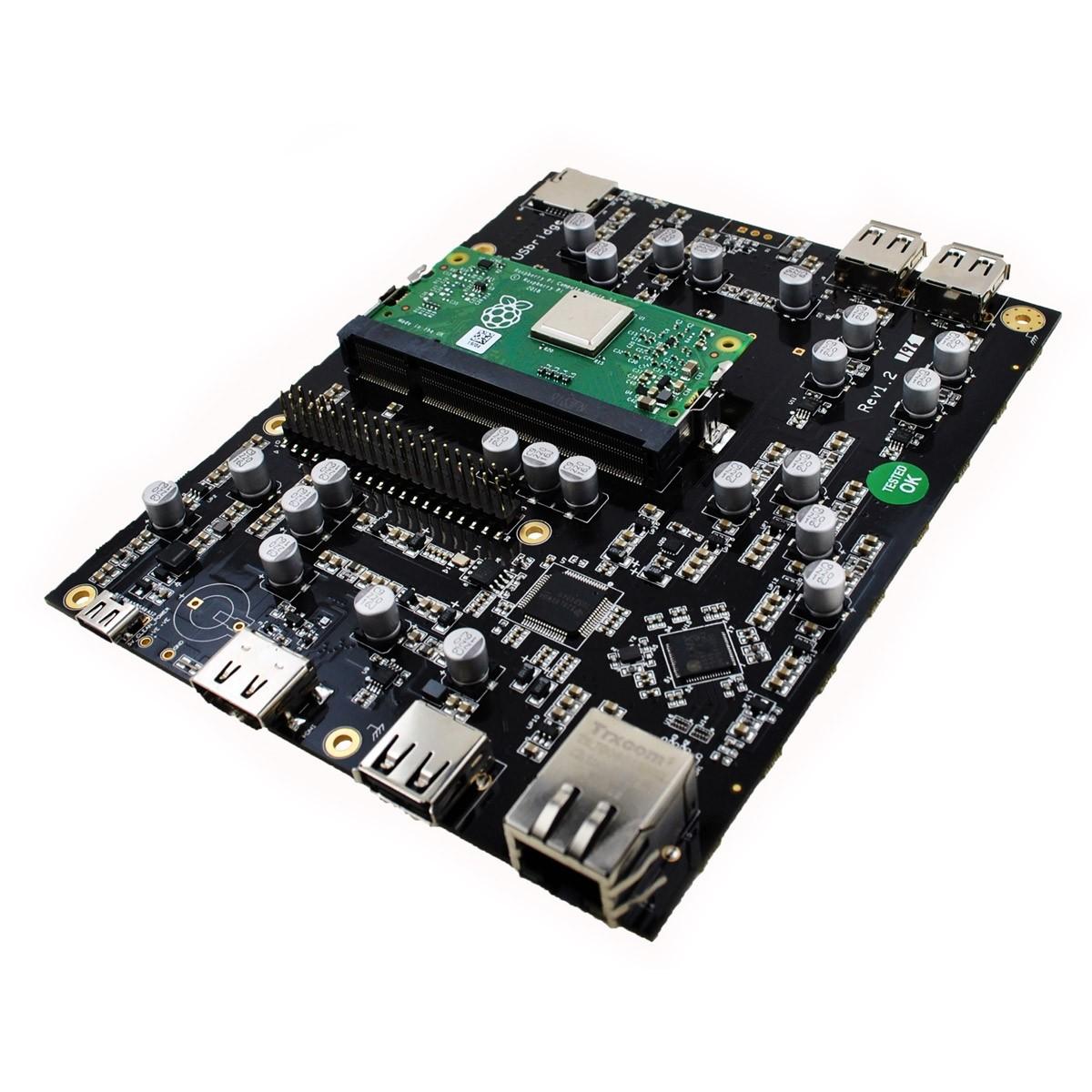 ALLO USBRIDGE SIGNATURE Lecteur Réseau Raspberry Pi Compute 3+ Interface USB Ultra Faible Bruit