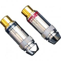 YARBO RCA-10FGN Connecteurs RCA femelle Ø 6.2mm (La paire)