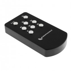 Télécommande infrarouge Audiophonics Aluminium noire DAC
