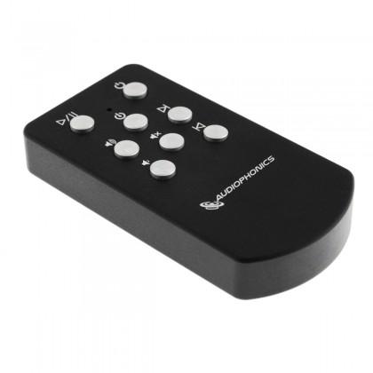 Audiophonics black Aluminium Remote ES9018 DAC