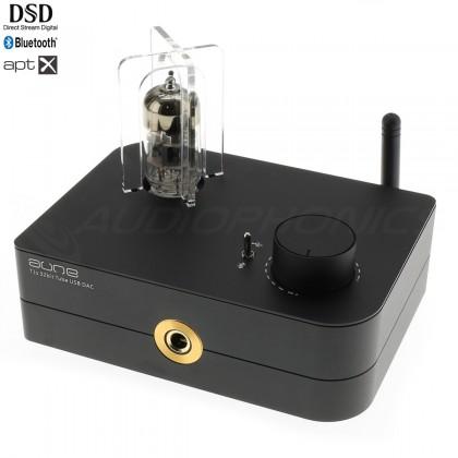 AUNE T1S 4TH GEN Amplificateur Casque à Tube DAC ES9038Q2M Bluetooth aptX