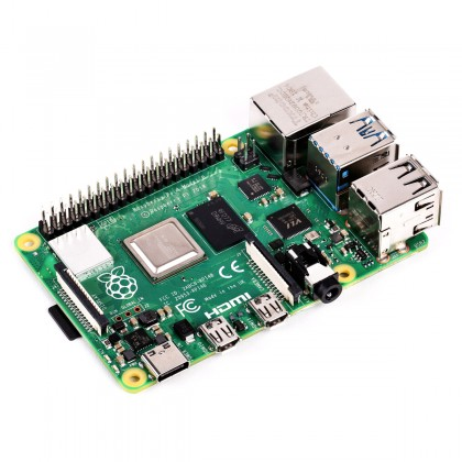 Raspberry Pi 4 Modèle B RAM 1Gb Micro HDMI Ethernet Gigabit WiFi Bluetooth 5.0 4x USB 1.5GHz