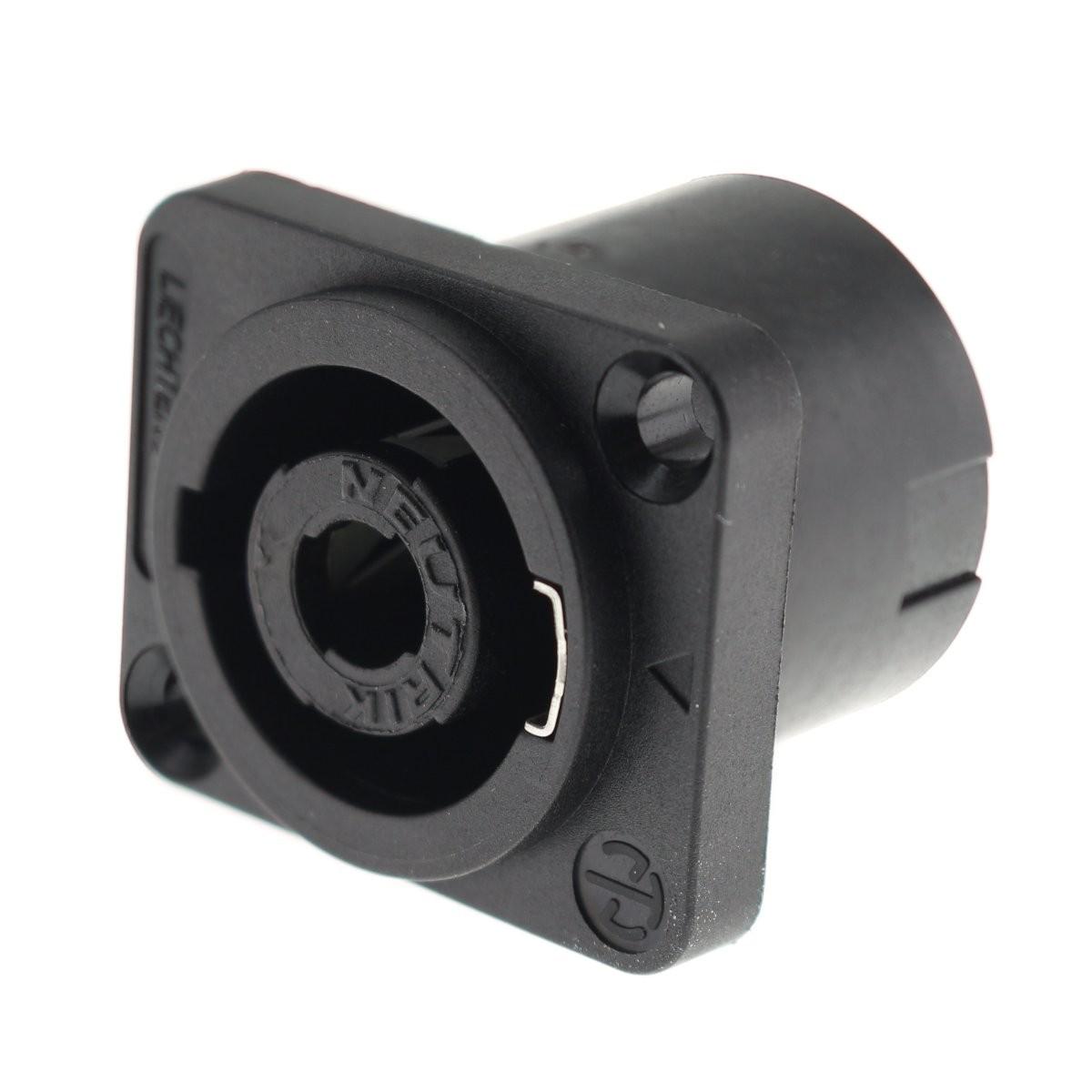 NEUTRIK NL4MP Male Speakon chassis socket