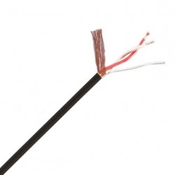MOGAMI W2944 Modulation cable OFC Copper 2x0.15mm² Ø2.5mm