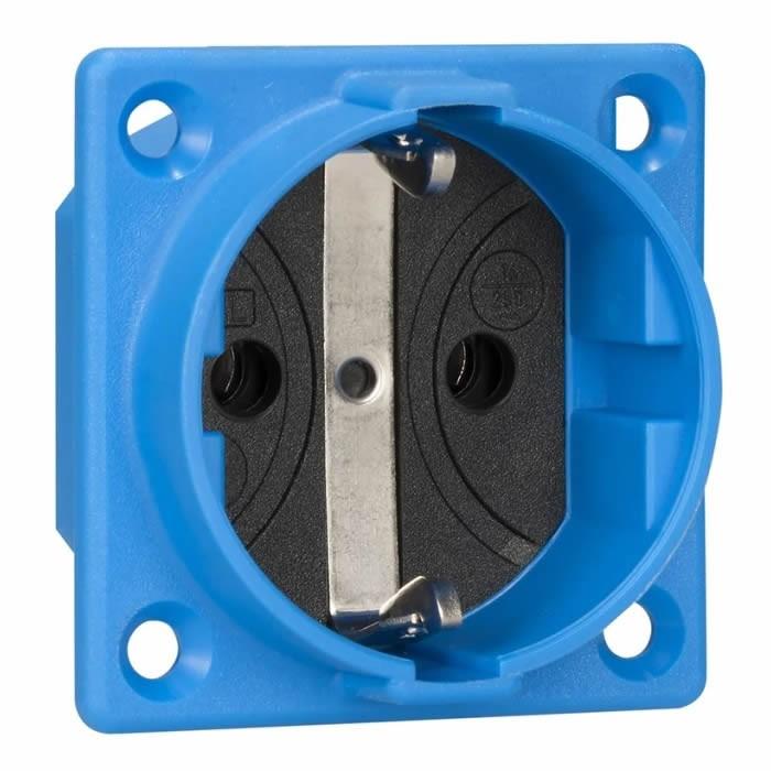 ABL SURSUM Schuko inlet 16A IP20 Blue