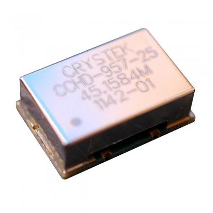 CRYSTEK CCHD-957 Ultra Low Phase Noise Clock 45.1584MHz 3.3V 25ppm