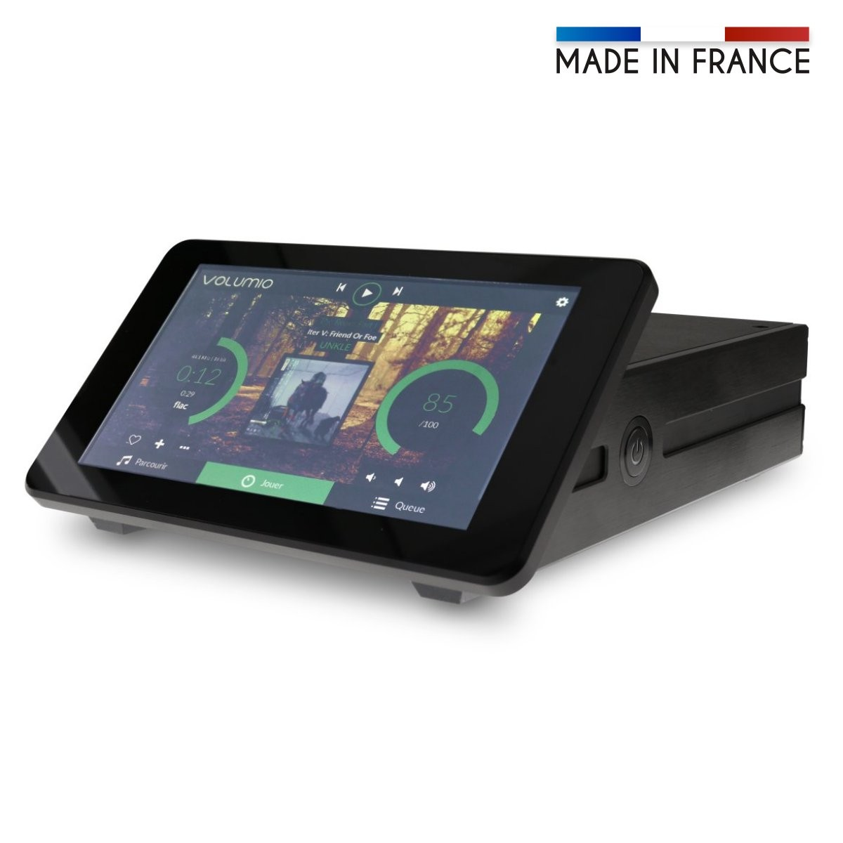 RASPTOUCH I-SABRE ES9038Q2M KALI Streamer Touchscreen with Volume Control