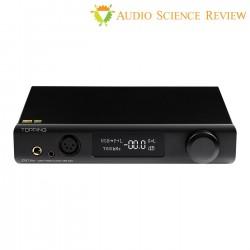 TOPPING DX7 PRO Balanced DAC Headphone Amplifier ES9038Pro Bluetooth 5.0 aptX HD LDAC 32bit 768kHz DSD1024 Black