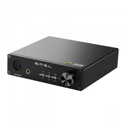 SMSL SP200 Balanced Headphone Amplifier THX AAA-888 2x 3W 32 Ohm Black
