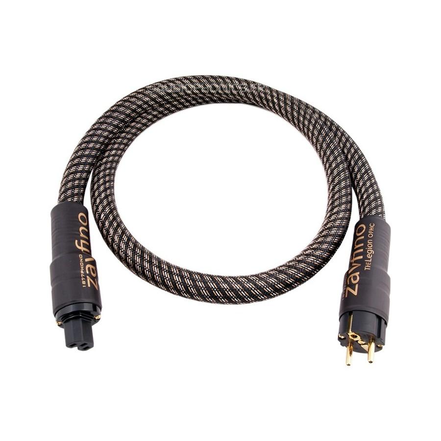 1877PHONO LEGION Power cable Shielded OFHC Schuko IEC C15 3x3.31mm² ...
