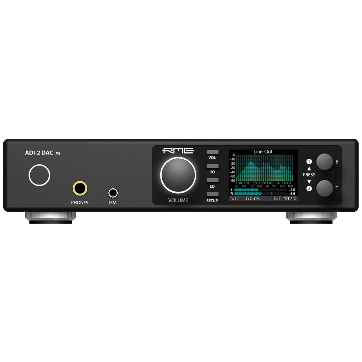 RME ADI-2 FS DAC Symétrique Amplificateur Casque AK4493 32bit 768kHz DSD256 Noir