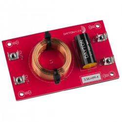 DAYTON AUDIO 3.5K-HPF-4 Filtre Passe-Haut pour Haut-Parleurs 3500Hz 12dB/Octave 4 Ohm