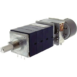 Potentiometer ALPS RK27114MC 4-way motorized 10k