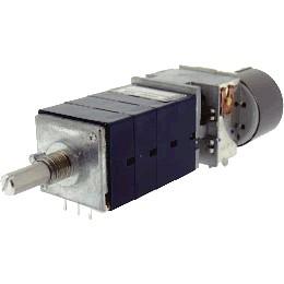 Potentiomètre ALPS RK27114MC 4 voies motorisé 10k