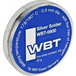 Soldering tin - WBT-0800 Silver soldering 4% 42gr
