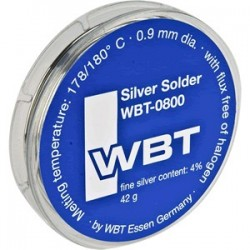 Etain à souder - WBT-0800 Soudure à l'argent 4% 42gr