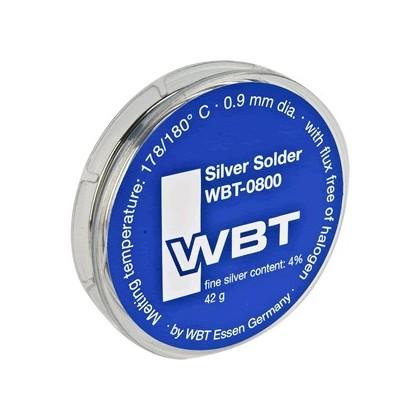 WBT-0800 Soudure à l'argent 4% 42gr