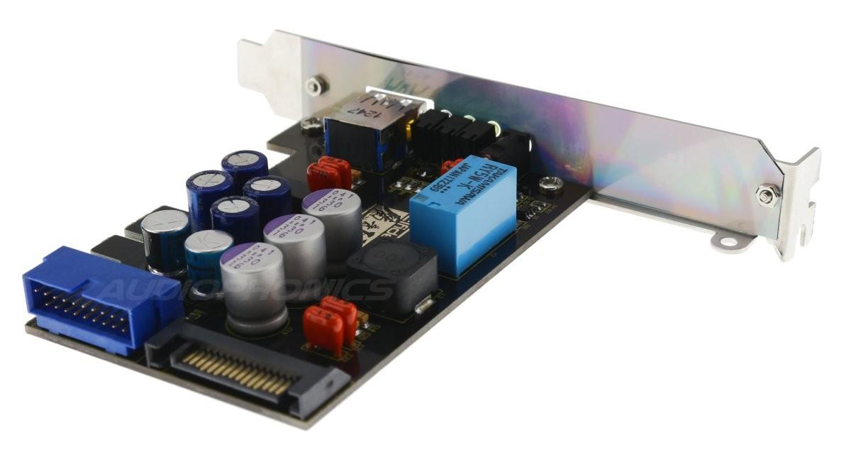 ELFIDELITY AXF-100 PRO III Filtre Alimentation USB Interne pour PC