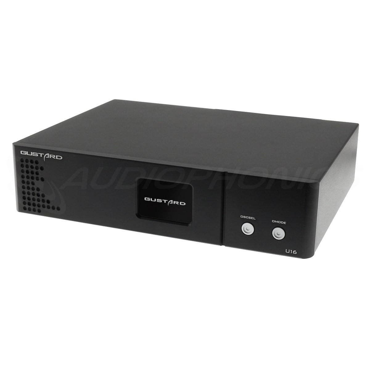 GUSTARD U16 Interface Digitale USB ES8620 SPDIF AES/EBU I2S HDMI LVDS Accusilicon 32bit 384kHz DSD512