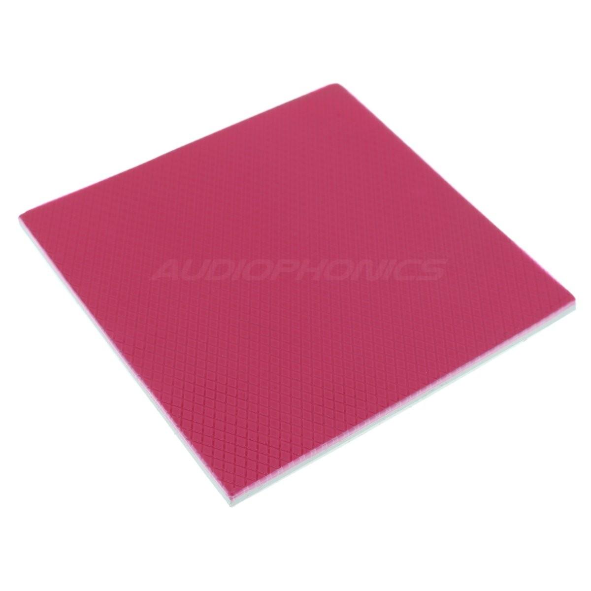 Pad thermique silicone 100x100x4mm (Unité)