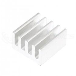 Radiateur Dissipateur Thermique Adhésif Aluminium 9x9x5mm Argent