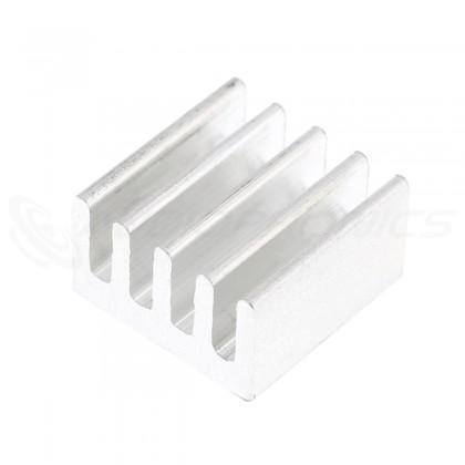 Radiateur Dissipateur Thermique Aluminium 9x9x5mm Argent