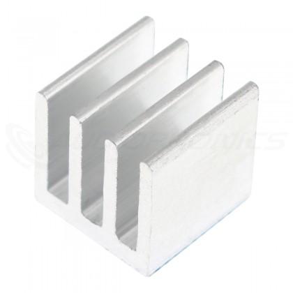 Heatsink 10x10x10mm Heatsink Silver Sticker
