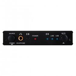 CYP DCT-24 USB DAC Preamplifier Headphone Amplifier 24bit 192khz