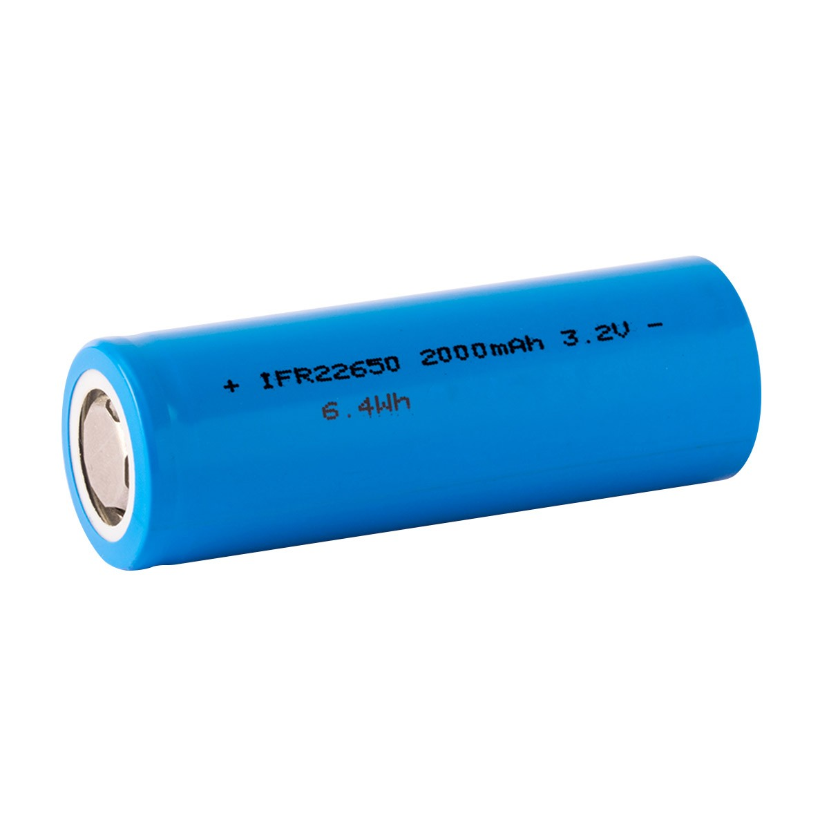 IFR22650 Accumulateur LiFePO4 3.2-3.3V 2000mAh Rechargeable