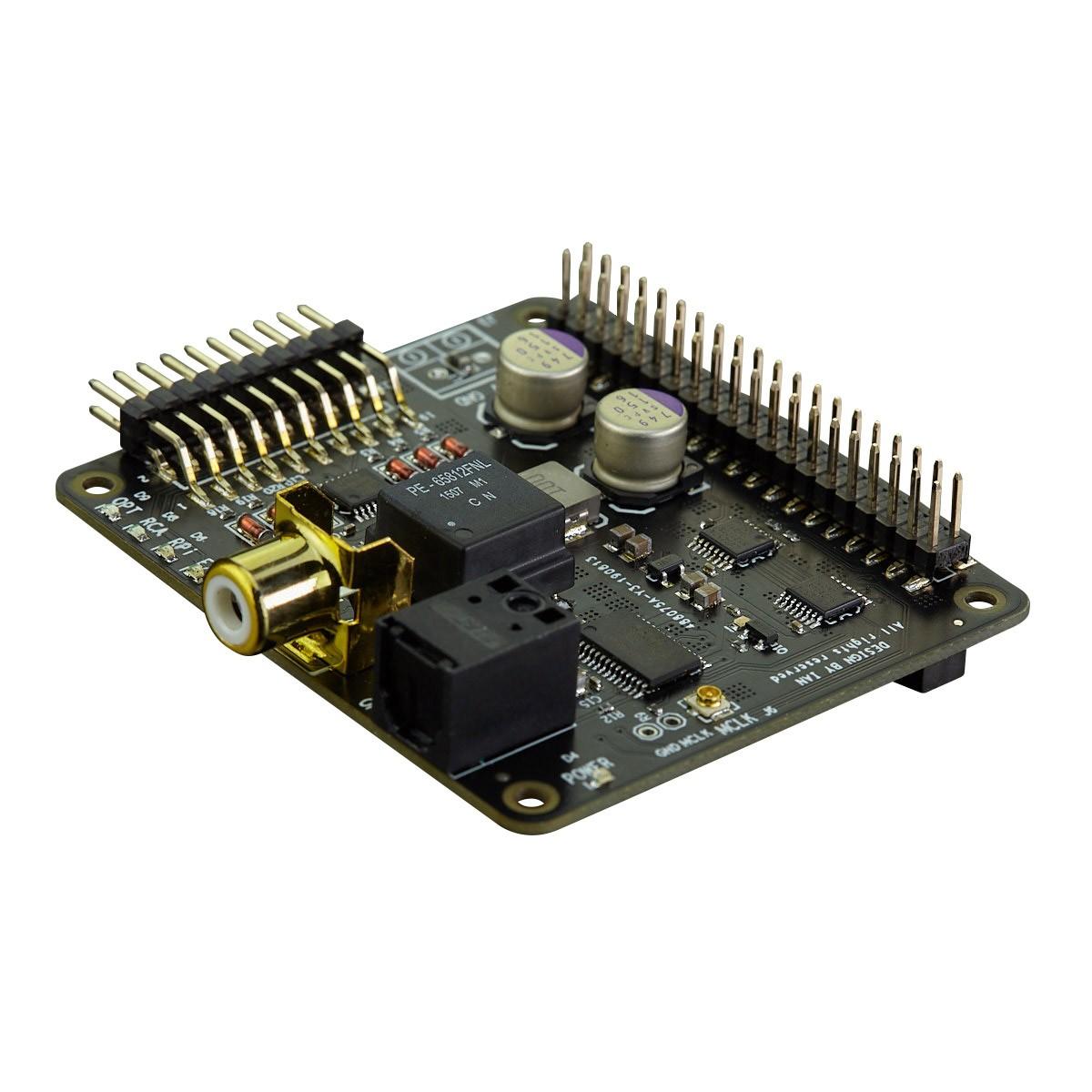 IAN CANADA RECEIVERPI Interface Numérique I2S SPDIF pour Raspberry Pi