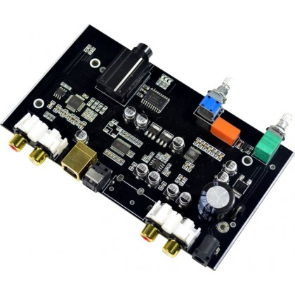 Module DAC PCM5100 / Préamplificateur / Amplificateur Casque / Sélecteur de source