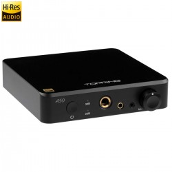 TOPPING A50 Balanced Headphone Amplifier Black