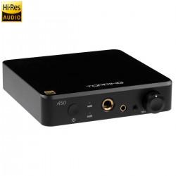 TOPPING A50 Balanced Headphone Amplifier Black