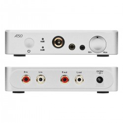 TOPPING A50 Headphone Amplifier Balanced Silver