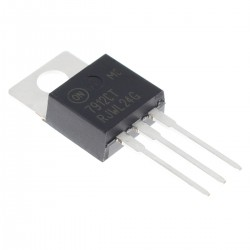 ON MC7912CTG LDO Linear Voltage Regulator -12V 1A (Unit)