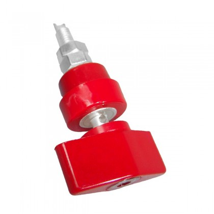 MUNDORF MCONNECT TPCU870SC Binding Post Silver Plated OFC Copper Red (Unit)