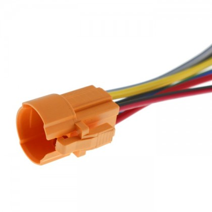 Fast Connector for Switch and Push-Button 5 wires Ø16mm