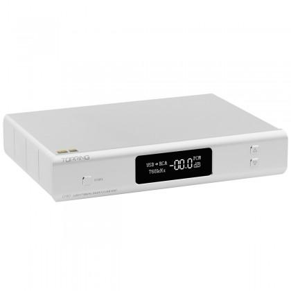 TOPPING D90 DAC Symétrique AK4499 XMOS XU208 I2S 32bit 768kHz DSD512 Bluetooth 5.0 Argent