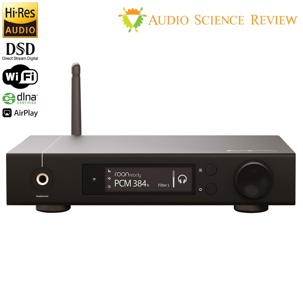 MATRIX ELEMENT I DAC Network Player ES9028PRO XMOS WiFi DLNA AirPlay 32bit 768kHz DSD512